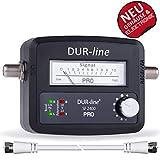 DUR-line SF 2400 Pro - Satfinder - NEU - Messgerät zum exakten Ausrichten Ihrer...