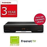 THOMSON THT740 DVB-T2 Receiver für digitales Antennenfernsehen mit freenet...