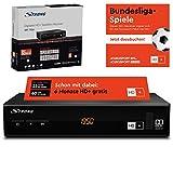STRONG SRT 7806 Satelliten Receiver für HD Plus inkl. HD+ Karte DVB-S2 Full HD...