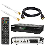 Kabel Receiver DVB-C Set von HB DIGITAL: Comag DKR60 HD DVB-C Receiver für...