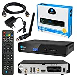 Satelliten SAT Receiver DVB-S2 Set: HB-DIGITAL HD 350S DVB-S/S2 Receiver + WLAN WiFi...
