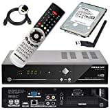 Megasat HD Twin SAT Receiver HD 935 V2 mit 1 TB Festplatte und W-LAN Stick (PVR, USB,...