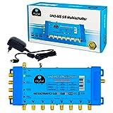 Multischalter pmse 5/8 HB-DIGITAL 1x SAT bis 8 x Teilnehmer / Receiver für Full HDTV...