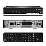 STRONG SRT 7007 HD Satelliten Receiver mit Display 【Free-to-Air, HDTV, HDMI,...
