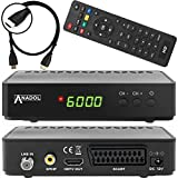 Anadol HD 200 Plus HD HDTV digitaler Satelliten-Receiver (HDTV, DVB-S2, HDMI, SCART,...