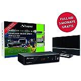 STRONG SRT 8541 Full-HD-HEVC-DVB-T2 Receiver mit Antenne, freenet-TV (HDTV, HDMI,...