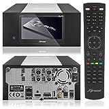 Xtrend ET 8500 HD Receiver PVR Ready mit Festplatte Schacht LCD Display 2 x DVB- C...