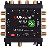 DUR-line MS 5/8 B eco Stromloser Multischalter - Multischalter für 8 Teilnehmer -...