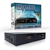 HD LINE 310 Digitaler Satelliten Receiver (HDTV, DVB-S/S2, HDMI, SCART, 2x USB 2.0,...