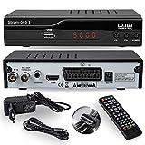 Strom 505 DVB-T2 Receiver - HEVC/H.265 - H.264 / MPEG2 - MPEG4 / 1080i - 1080p...