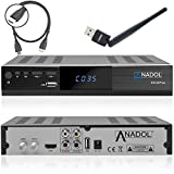 Anadol HD 222 Plus HD HDTV digitaler Satelliten-Receiver (WiFi, HDTV, DVB-S2, HDMI,...