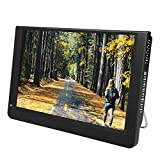 Garsent Tragbar Fernseher DVB T2 1280 x 800 Auflösung Audio Bildschirm Digital TV...