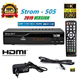 hd-line Strom 505 DVB-T2 Receiver - HEVC/H.265 - H.264 / MPEG2 - MPEG4 / 1080i -...