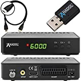 Anadol HD 200 +Plus HD HDTV digitaler Satelliten-Receiver (HDTV, DVB-S2, HDMI, SCART,...