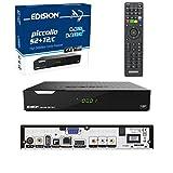 Edision PICCOLLO S2+T2/C Combo Receiver H.265/HEVC (DVB-S2, DVB-T2, DVB-C,) CI Full...