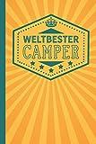 Weltbester Camper: blanko Notizbuch   Journal   To Do Liste für Camper und...