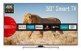 JVC LT-50VU8055 50 Zoll Fernseher (4K Ultra HD, HDR, Triple Tuner, Smart TV,...