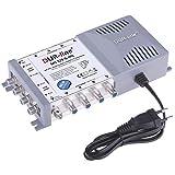 DUR-line MS 5/8 G-HQ Multischalter - SAT für 8 Teilnehmer/TV - mit stromspar...