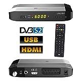 Univision UNS1001 digital Satelliten Sat Receiver (HDTV, DVB-S/S2, HDMI, Scart,...