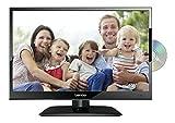 Lenco DVL-1662 16 Zoll (40cm) LED-Fernseher mit DVD-Player - Triple-Tuner...