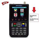 KKmoon sat finde Digital Satellite Finder mit 3,5 Zoll LCD Digitalanzeige Neue...