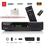 Opticum SBOX Plus - Sat-Receiver HD Unicable - Media-Player 1080P Full-HD...