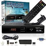 HD-LINE HDMI Receiver Satellit HD Digitaler Satelliten Receiver HDMI DVB S2 Receiver...