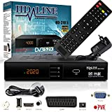 HD-LINE HDMI Receiver Satellit HD Digitaler Satelliten Receiver HDMI DVB S2 Receiver...