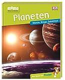 memo Wissen entdecken. Planeten: Monde, Ringe, Satelliten. Das Buch mit Poster!