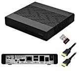 Vu+ Zero 1x DVB-S2 Tuner Black Full HD 1080p Linux Satelliten Receiver + W-LAN Stick...