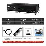 LOISK Kabelreceiver Hybrid für digitales Kabelfernsehen inkl. HDMI Kabel Set:...