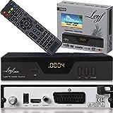 Leyf 2809 Digital Satelliten Sat Receiver - (HDTV, DVB-S/S2, HDMI, SCART, 2X USB 2.0,...