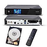 VU+ Uno 4K SE 1x DVB-S2 FBC Twin Tuner 1TB HDD Linux Receiver UHD 2160p