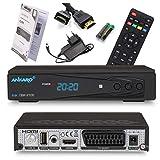 Ankaro 2100 DSR Sat Receiver - HD Satelliten Receiver mit USB-Mediaplayer Funktion -...