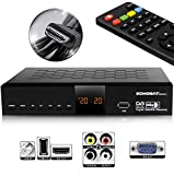 HD LINE HDMI Receiver für Sat - Digitaler Satelliten HD Receiver (HDTV, DVB-S...