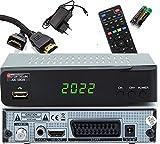 Opticum SBOX - PVR Aufnahmefunktion Timeshift - Multimedia - 1080P Digital HDTV Sat...