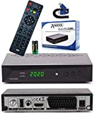 Anadol HD 222 Pro - PVR Aufnahmefunktion, Timeshift, Multimedia - 1080P Digital HDTV...