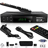 Echosat HDMI SCART HD Receiver Satellit DVB S2 HD Receiver für SAT Digitaler...