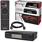 Kabel Receiver Kabelreceiver - DVB-C HB-DIGITAL Set: Opticum HD C200 Receiver für...