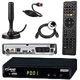netshop 25 Set: Comag SL65T2 DVB-T2 Receiver (Mit Zugangssystem für FREENET TV) +...