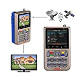 GT MEDIA V8 Satelliten Finder Meter Sat Finder Satellitenerkennung DVB-S / S2 / S2X...