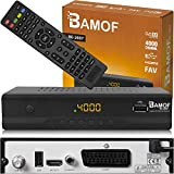 Bamof BE-2607 Digital Satelliten Sat Receiver - ( HDTV , DVB-S/S2 , HDMI , SCART , 2X...