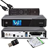 VU+ UNO 4K SE - UHD HDR 1x DVB-S2 FBC Sat Twin Tuner E2 Linux Receiver, YouTube,...