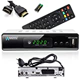 Anadol ADX 111c Full-HD 1080p digitaler Kabel-Receiver, PVR Aufnahmefunktion &...