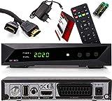 Opticum SBOX HDTV Sat-Receiver, Mediaplayer, 1080P Full-HD Digital Mini TV-Receiver...