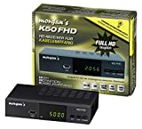 Morgan`s K50 FHD digitaler Full HD Kabelreceiver mit Aufnahmefunktion PVR Timeshift,...