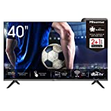 Hisense 40AE5500F 100cm (40 Zoll) Fernseher (Full HD, Triple Tuner DVB-C/S/S2/T/T2,...