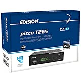 EDISION Picco T265 Full HD H.265 HEVC terrestrischer FTA Receiver T2, (1x DVB-T2,...