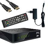 Kabelabel Edision Kabelreceiver Hybrid für digitales Kabelfernsehen inkl. HDMI Kabel...
